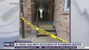 9-year-old boy accused of stabbing 5-year-old sister
