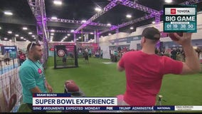 Super Bowl Experience gives fans a taste of the action