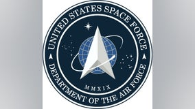 President Trump tweets out new Space Force logo