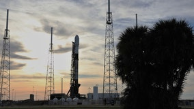 SpaceX scrubs Falcon 9 launch until after historic manned launch