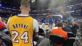 Fans at Orlando Magic game remember NBA legend Kobe Bryant following his tragic death