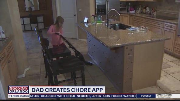 Dad creates chore app