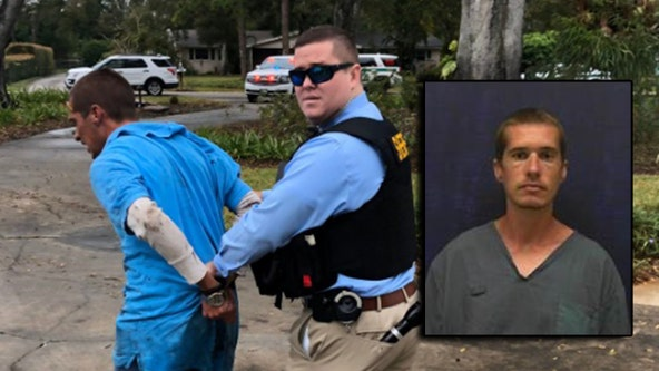 Escaped Florida inmate caught after multi-county search