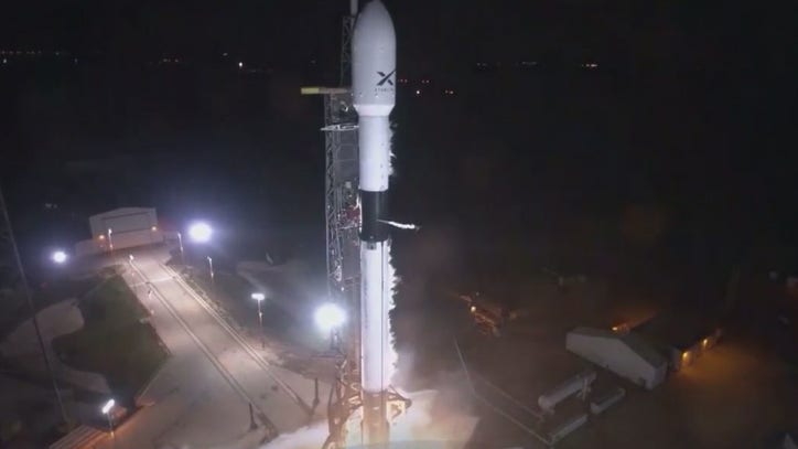 SpaceX Falcon 9 expected to launch Starlink satellites into space on Monday - WOGX