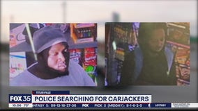 Police searching for Titusville carjacking suspects