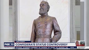 Confederate statue controversy in Lake County