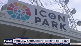 Two new attractions coming to ICON PARK