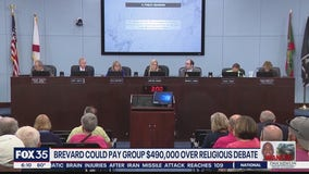 Brevard County could pay group nearly $500K over religious debate
