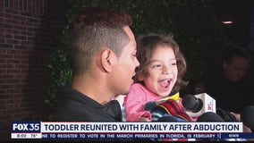 Abducted 3-year-old found reunited with father