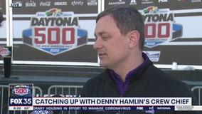 Daytona 500: Catching up with Denny Hamlin's Crew Chief