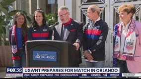 USWNT prepares for match in Orlando