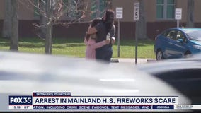1 arrested in incident that prompted Mainland HS lockdown