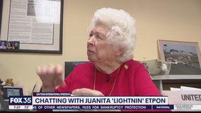 Daytona 500: Chatting with Juanita 'Lightnin' Etpon