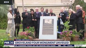 Groveland Four monument unveiled