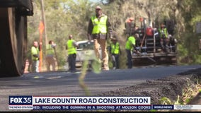 Lake County road construction project begins