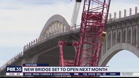Veterans Memorial Bridge to open next month