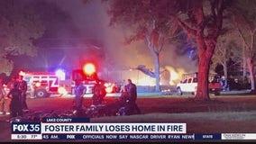 Foster family loses everything in house fire