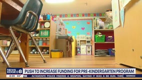 Push to increase funding for pre-kindergarten program