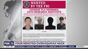 US says Chinese military was behind Equifax breach