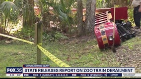 State releases report on zoo train derailment