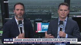 Jeff Gordon and Jimmie Johnson talk Daytona 500