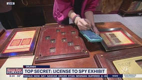 License to Spy exhibit at the Orlando Science Center
