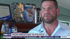 Matt Morgan goes from pro wrestling to politics