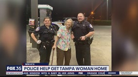Police in Longwood help lost woman get home to Tampa