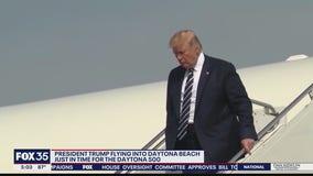 President Trump to fly into Daytona same day as big race