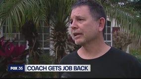 Seminole High School baseball coach reinstated