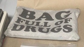 2 arrested after Florida troopers find narcotics in bag labeled as 'bag full of drugs'