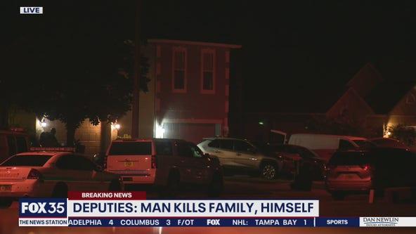 Man kills family and himself, deputies say