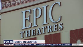 Theater offering drive-in experience after closing doors due to coronavirus concerns