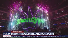 Wrestlemania in Orlando without audience