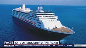 Fate of 'sick ship' up in the air
