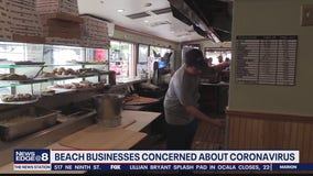 Beach businesses concerned about coronavirus
