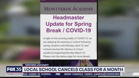 Montverde Academy shifting to virtual learning due to coronavirus concerns