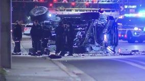 Road shut down as police investigate deadly crash