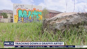 Tracking down graffiti artist