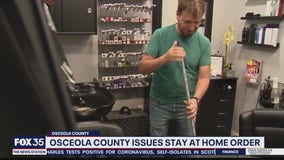 Osceola County issues stay at home order