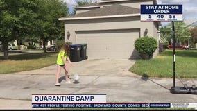 'Camp Quarantine' keeping kids and families busy