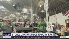 Stores adding extra precautions