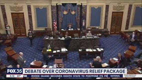 Debate over coronavirus relief package