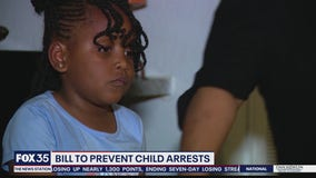 6-year-old girl arrested heads to Tallahassee to get law changed