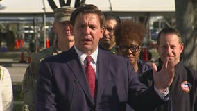 Governor DeSantis says that more test kits are on the way