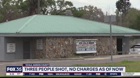 No charges filed after 3 shot in Ocala bar