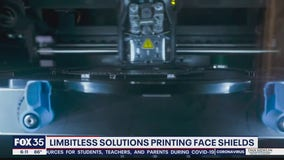 Limbitless Solutions printing face shields