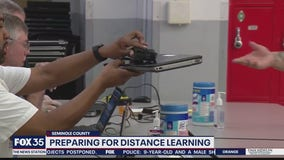 Seminole County preparing for distance learning
