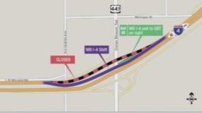OBT off ramp shifting on Interstate 4