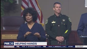 Helping hands: Sign language interpreters saving lives